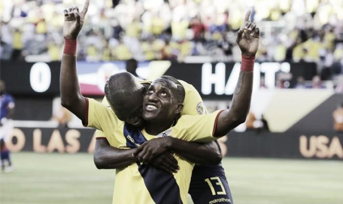 Copa America Centenario: Ecuador advances to quarterfinals with a one-sided victory over Haiti