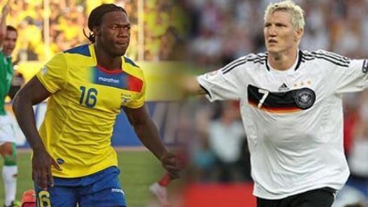 Ecuador - Alemania, así lo vivimos