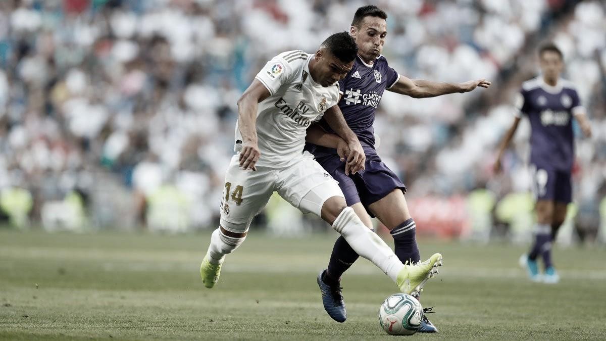 Real Madrid cede empate ao Valladolidnos minutos finais pela La Liga