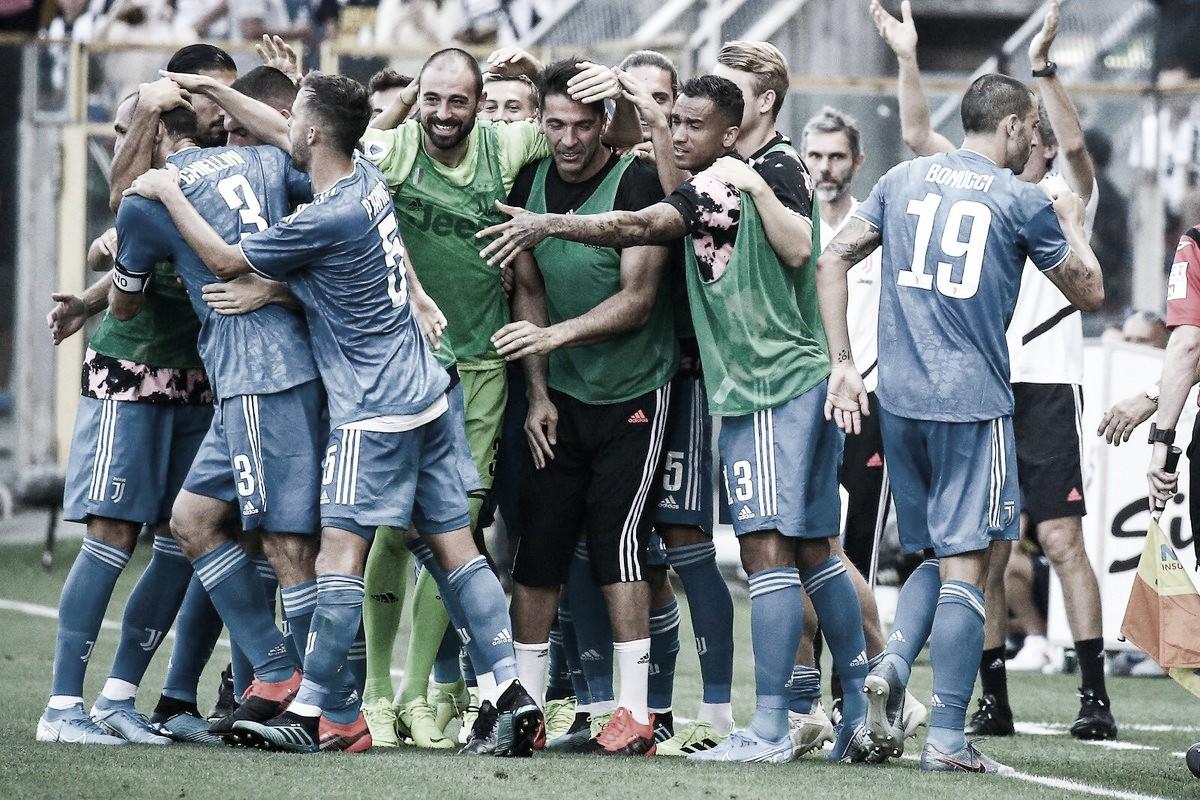 Chiellini marca, e garante vitória da Juventus sobre o Parma na estreia do Italiano