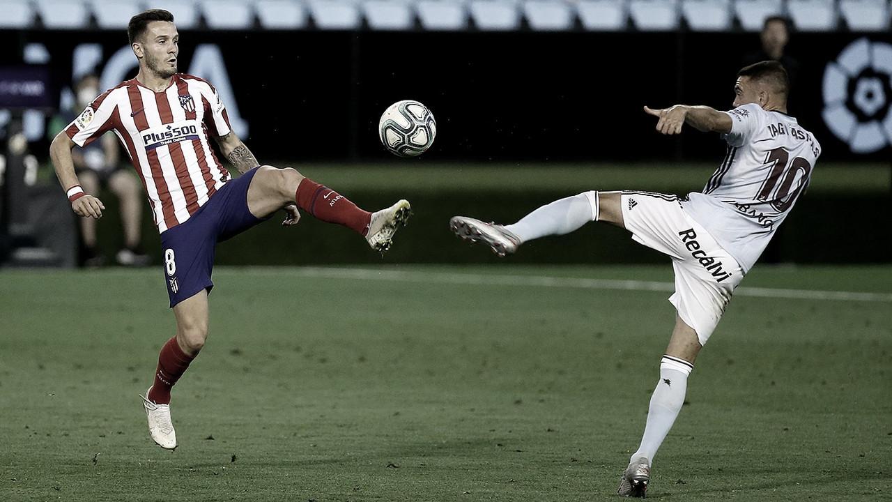 Celta de Vigo reage no segundo tempo e empata com Atlético de Madrid em LaLiga