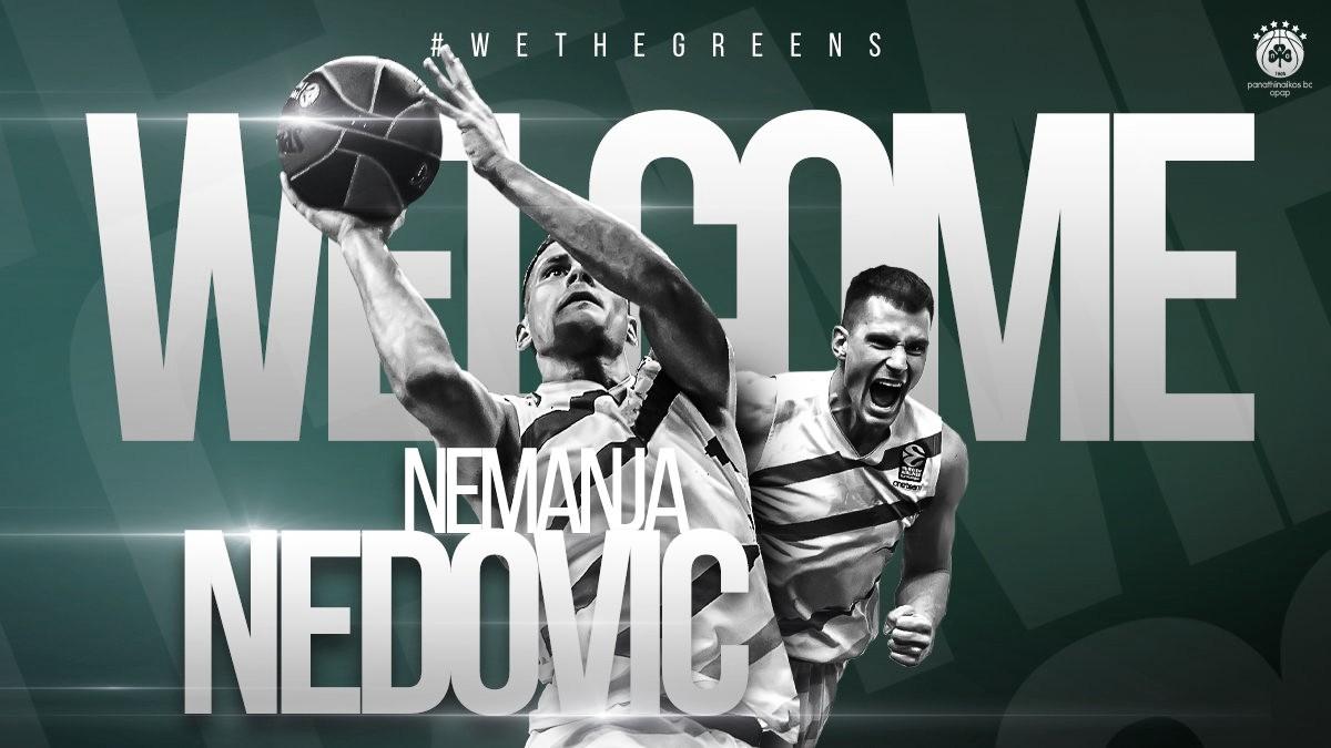 Panathinaikos BC oficializa la llegada de Nemanja Nedovic