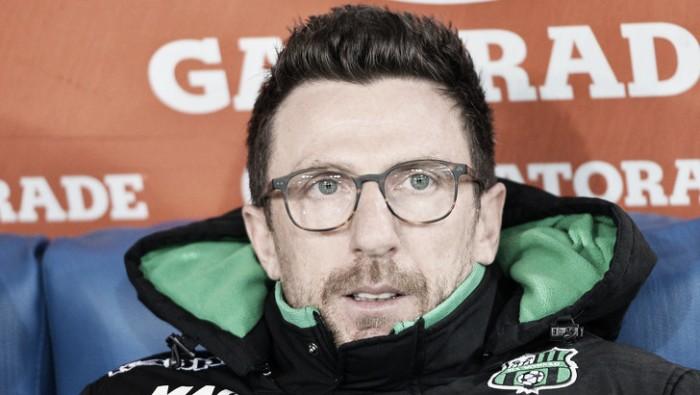 """Sassuolo, intervista a Di Francesco: """"Lapadula mi piace: è in linea con la nostra filosofia"""""""