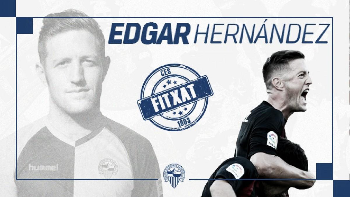 Edgar Hernández vuelve al CE Sabadell