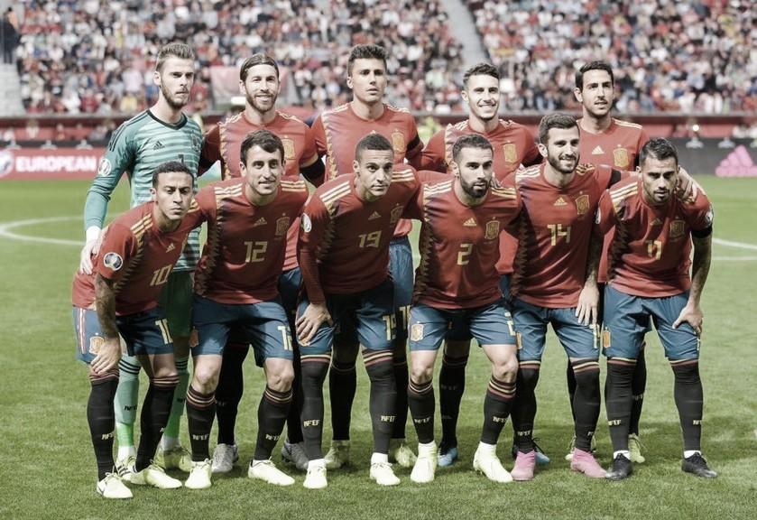 Una España floja que cumple