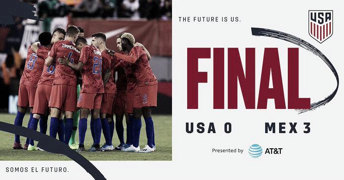 Estados Unidos 0-3 México: el Clásico de la Concacaf, la nueva pendiente