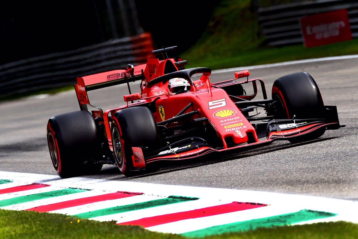 Formula 1 - Gran Premio d'Italia: Vettel davanti nelle libere 3