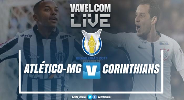 Resultado Atlético-MG x Corinthians pelo Campeonato Brasileiro 2017 (0-2)