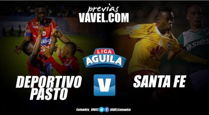 Deportivo Pasto vs Independiente Santa Fe: un juego de altura y necesitados