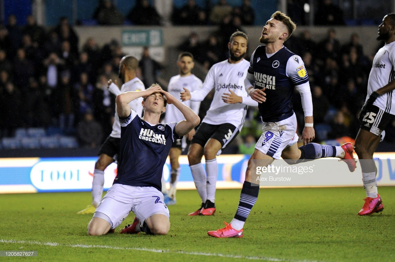 Millwall 1-1 Fulham: Bodvarsson cancels out Mitrovic's opener