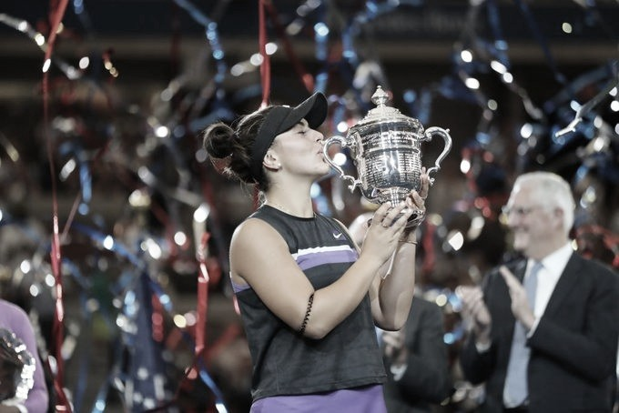 Histórico: Andreescu supera Serena Williams e conquista o título do US Open