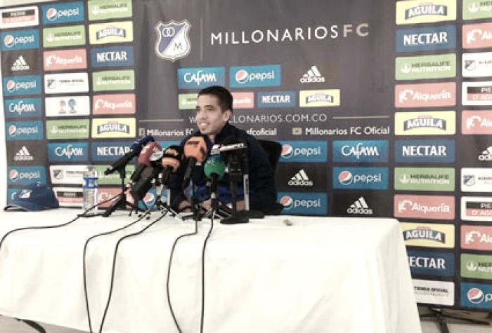 """Maxi Núñez: """"El objetivo es pelear el campeonato, tenemos un buen equipo"""""""