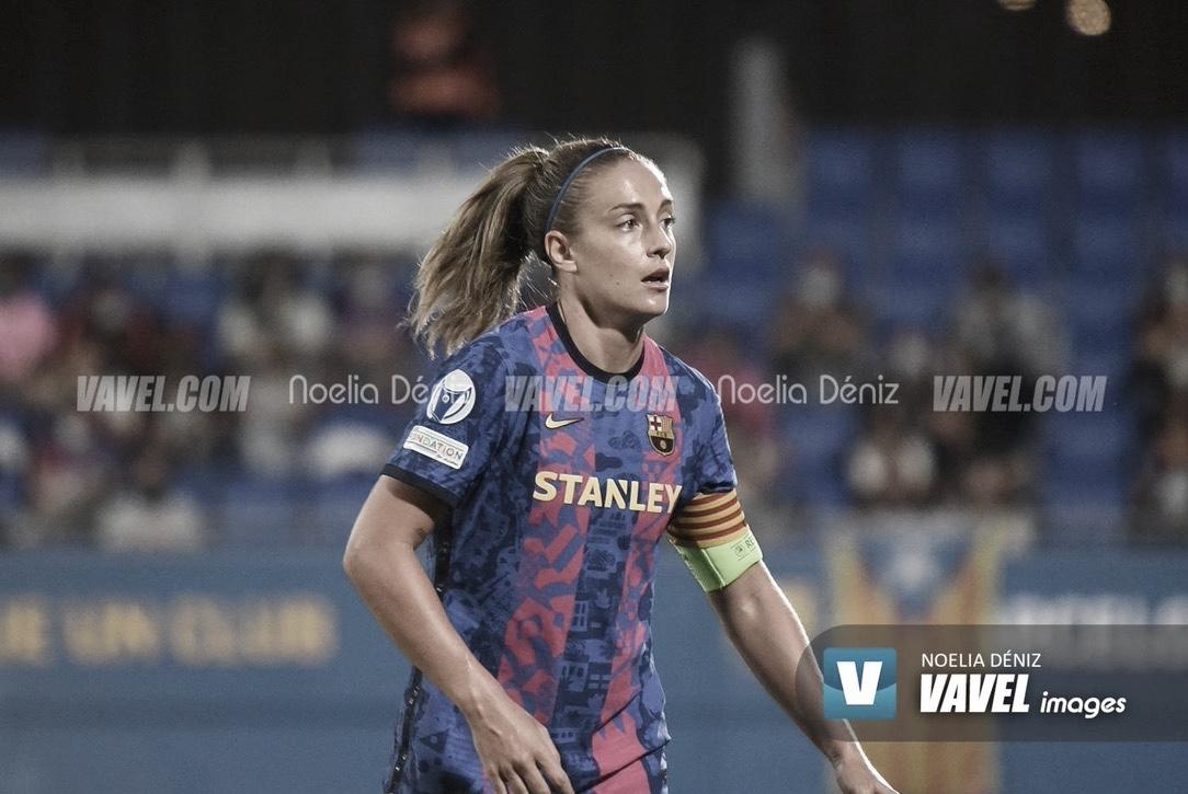 """Alexia Putellas: """"Cuando se ha empezado a invertir en nuestra profesionalidad han venido resultados"""""""