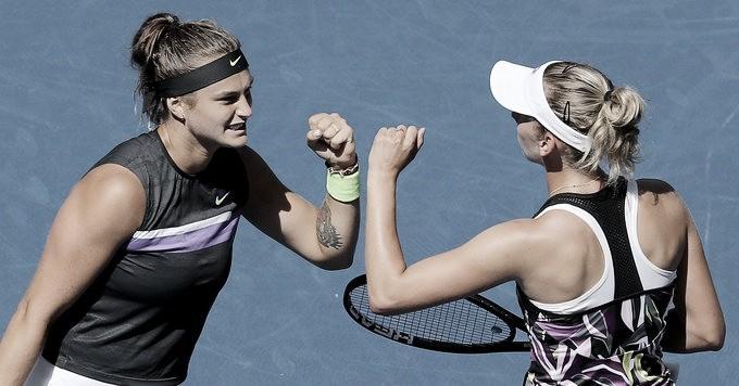 Mertens/Sabalenka vencem Barty/Azarenka e conquistam pela primeira vez o US Open