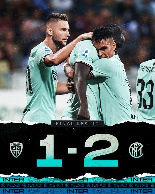 Serie A- Lukaku dal dischetto risolve una gara complicata, Inter corsaro a Cagliari (1-2)
