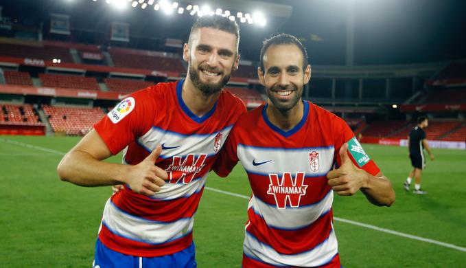 Víctor Díaz, Duarte, Carlos Fernández y Diego Martínez, en el equipo revelación de UEFA.com