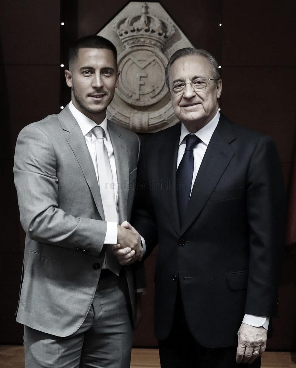 """Eden Hazard: """"Pienso que el fútbol es felicidad"""""""