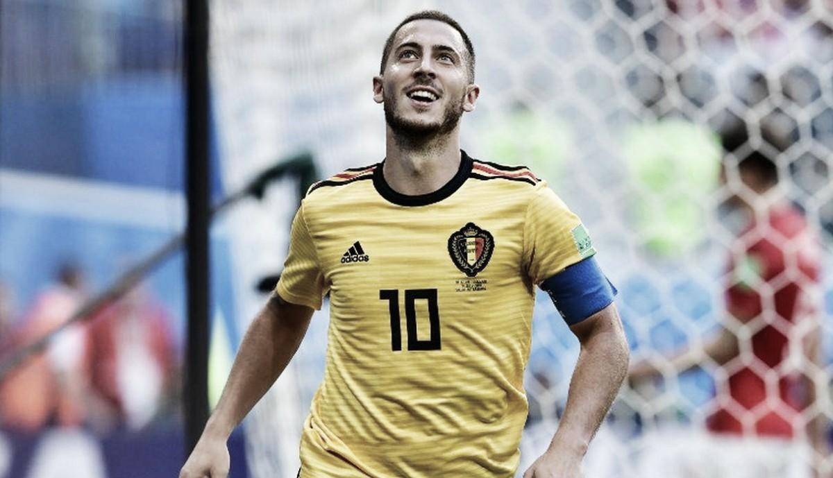 """Eden Hazard: """"Creo que lo haremos mejor dentro de dos años en la Eurocopa"""""""