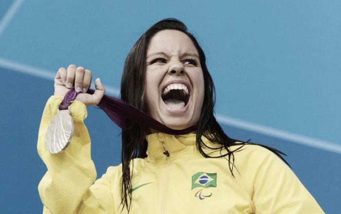 Tricampeã mundial, Edênia Garcia nadará pelo primeiro ouro na Paralimpíada Rio 2016