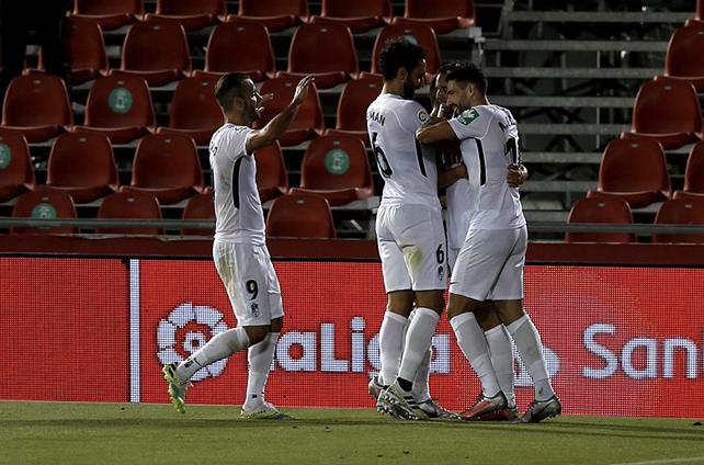 El Granada CF vence en Mallorca y mantiene vivo el sueño europeo