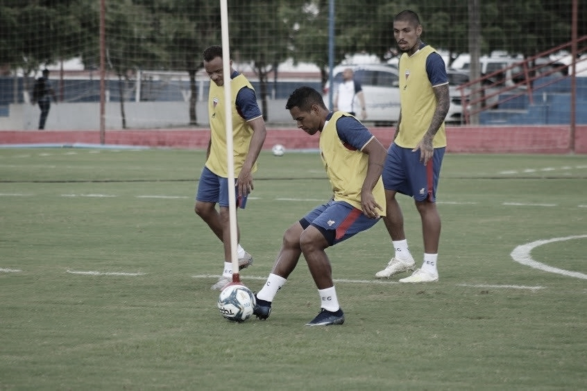 Perto dos 50 jogos pelo Fortaleza, Éderson comemora bom momento vivido no clube
