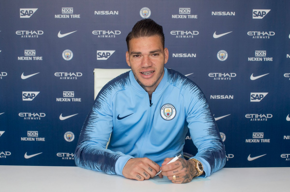 Ederson signs new Manchester City contract