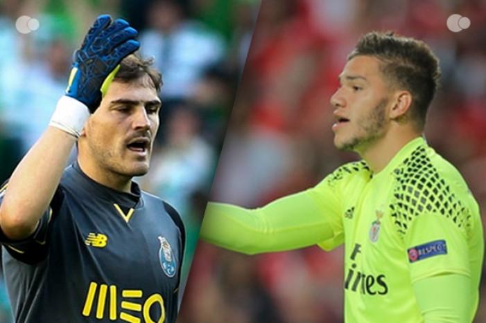 Ederson vs Casillas - os menos batidos da Liga