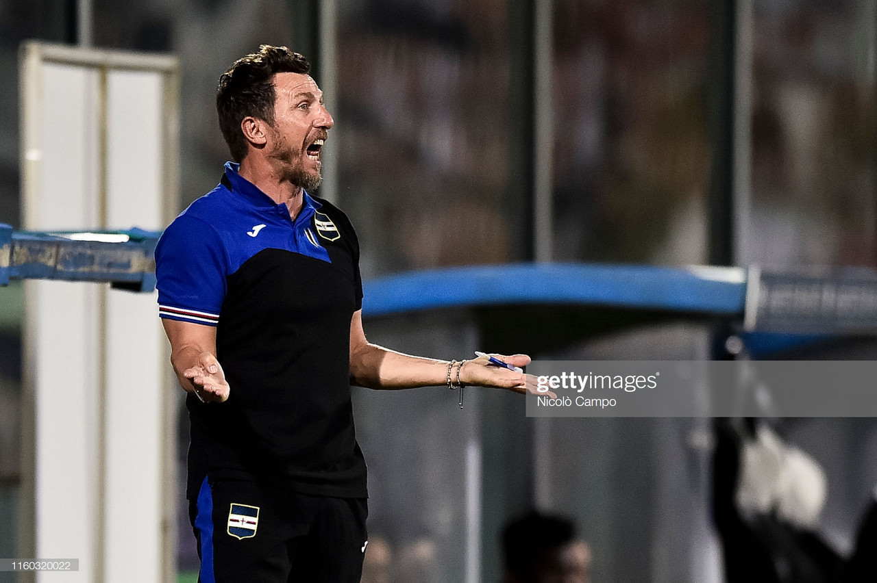 Sampdoria 2019-20 Season Preview: Can Di Francesco Bounce Back?