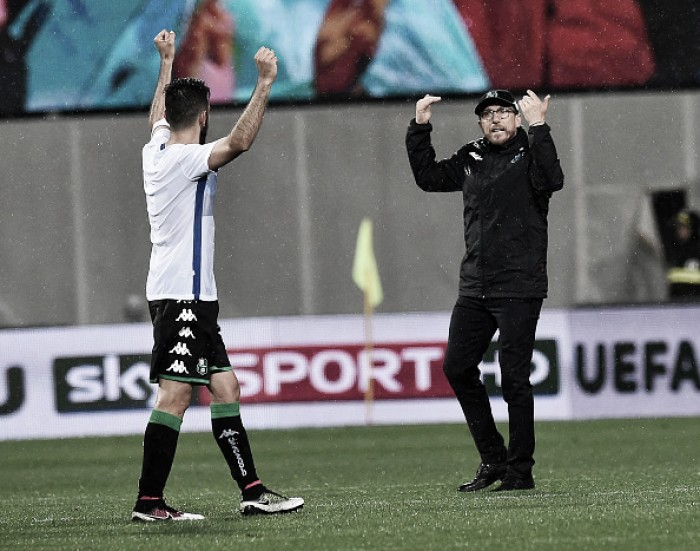 Sassuolo enter the European stage