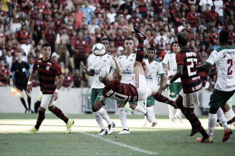 Arrascaeta marca pela primeira vez, Diego faz golaço e Flamengo atropela Cabofriense