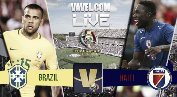 Resultado Brasil x Haiti pela Copa América Centenário 2016 (7-1)
