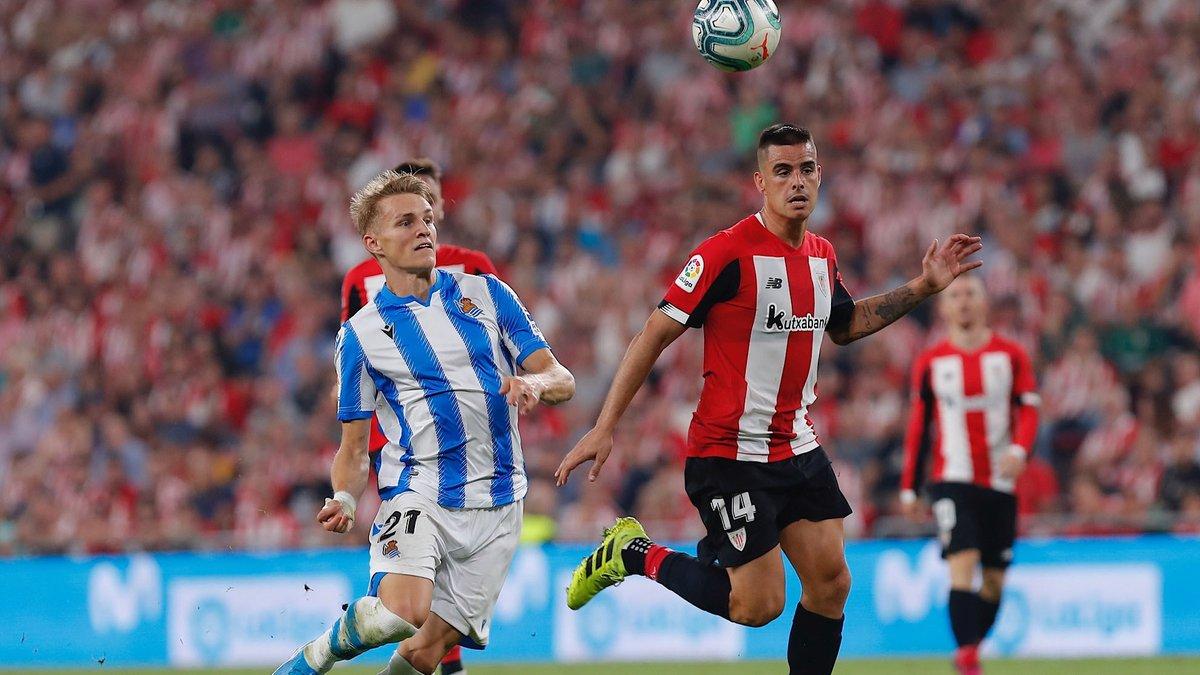 Liga Spagnola- Il venerdì porta bene al Bilbao: dopo il Barcellona, batte la Sociedad 2-0 al San Mames