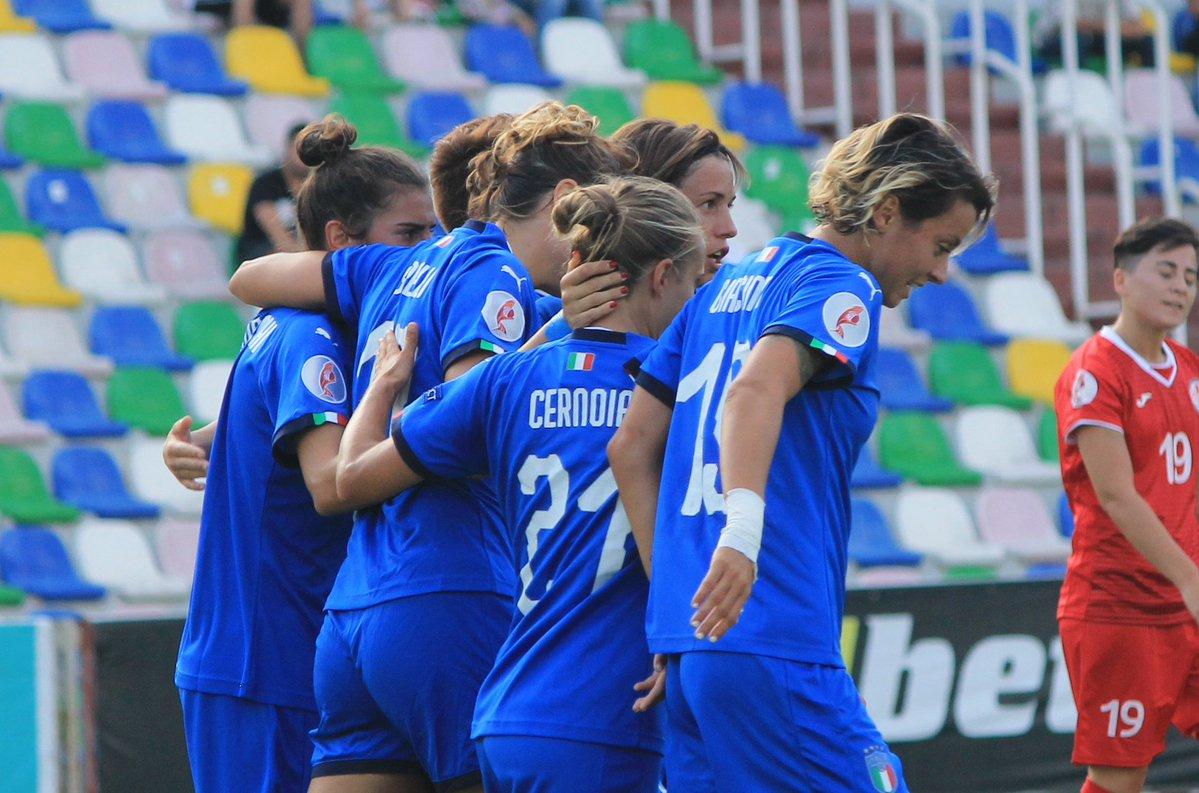 Qualificazioni Euro 2021 Femminili- Seconda vittoria delle azzurre. 1-0 alla Georgia