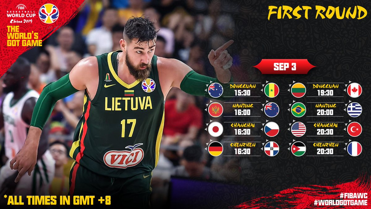 Basket Mondiale FIBA Cina 2019- A casa la Germania e qualificata la Francia