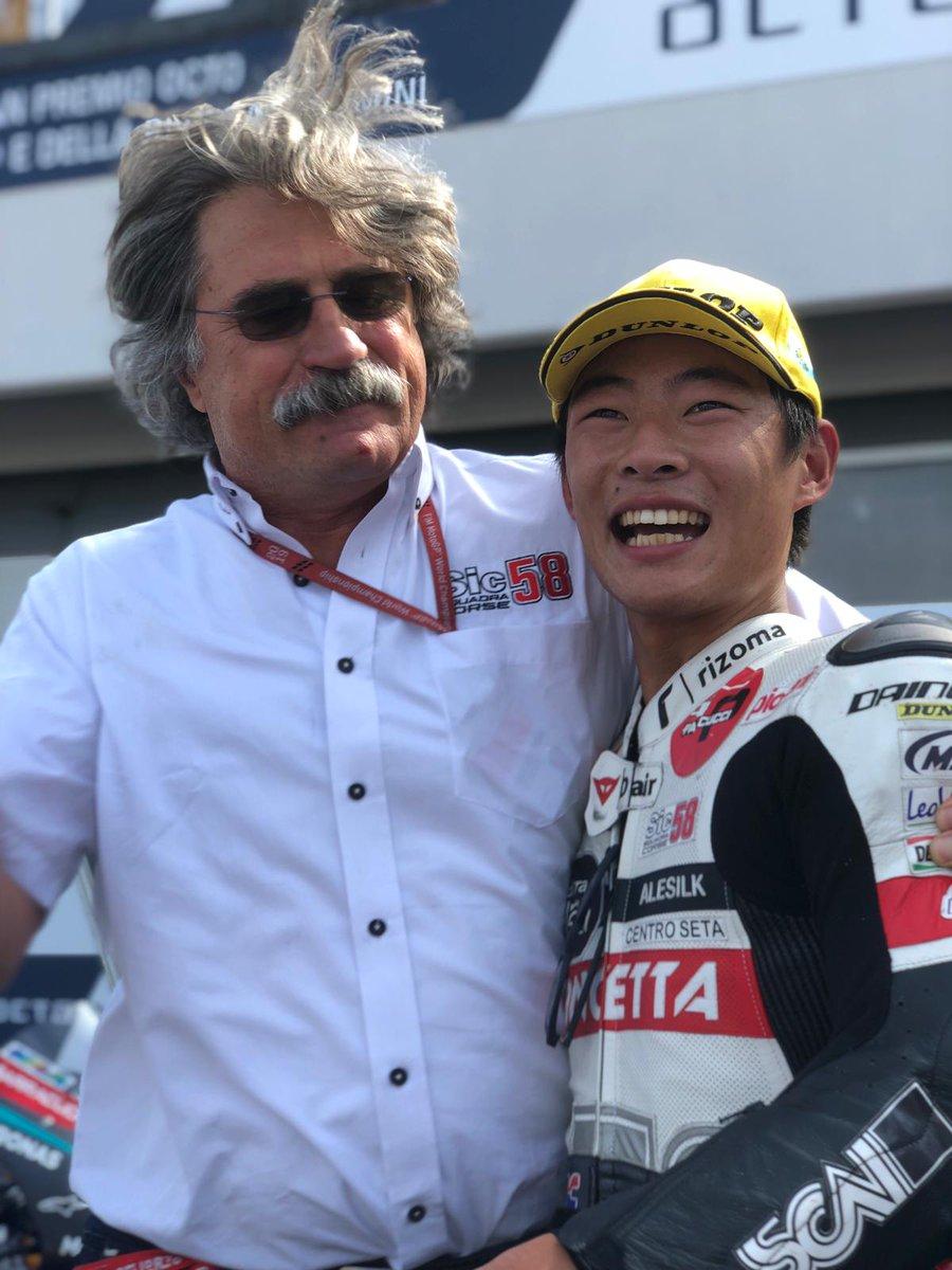 Moto3 Gp Misano- La vittoria va a Suzuki, ma il Mondiale è lotta italiana tra Dalla Porta e Arbolino
