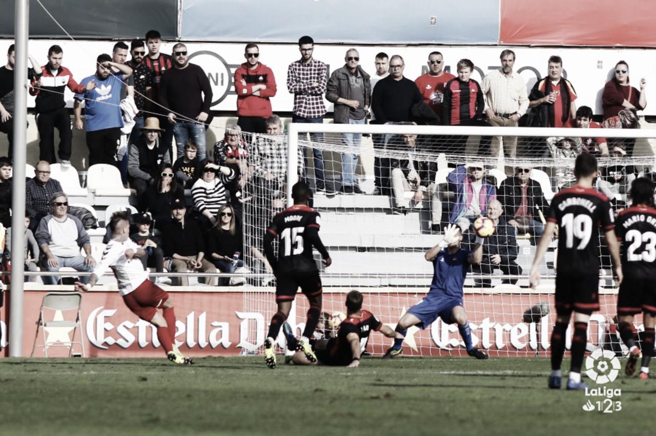 Edgar Badia, el mejor frente a Osasuna según la afición