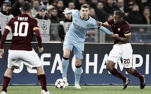 """Mercato Roma, Sabatini: """"Dzeko è il giocatore che fa per noi"""""""