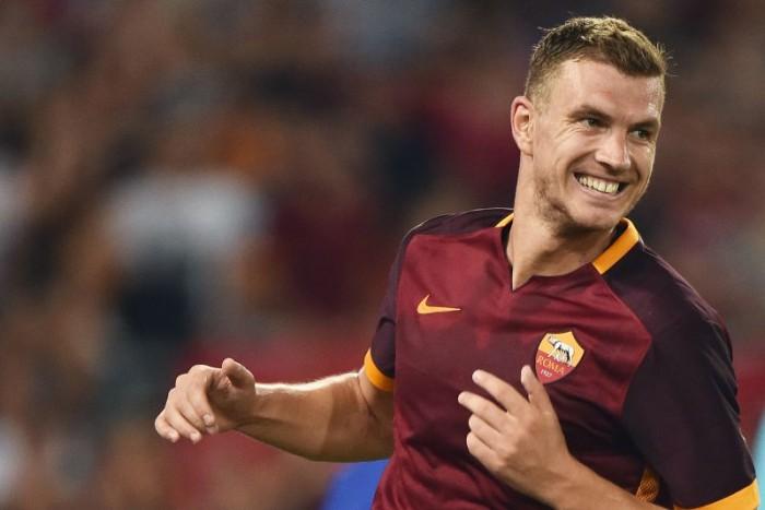 """Roma, parla Dzeko: """"Felice di essere ancora qui"""""""