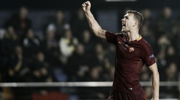 Roma, Dzeko tra le triplette e il rapporto con Totti