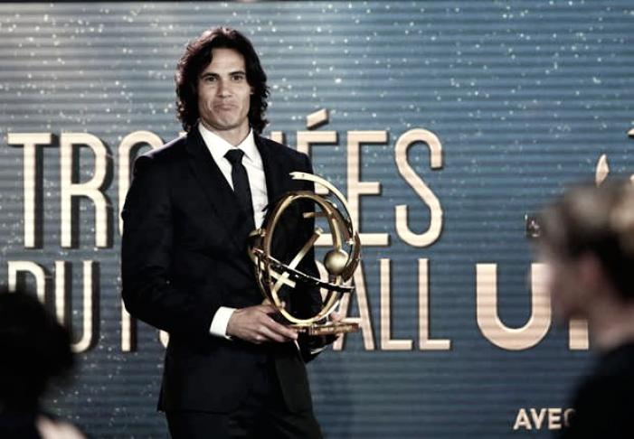 Ligue 1 - Edinson Cavani eletto miglior giocatore dell'anno