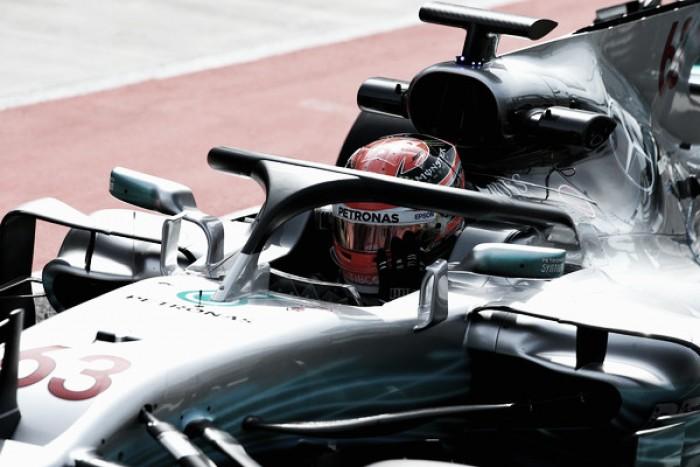 La FIA valora reducir el grosor del Halo para beneficiar la visión del piloto