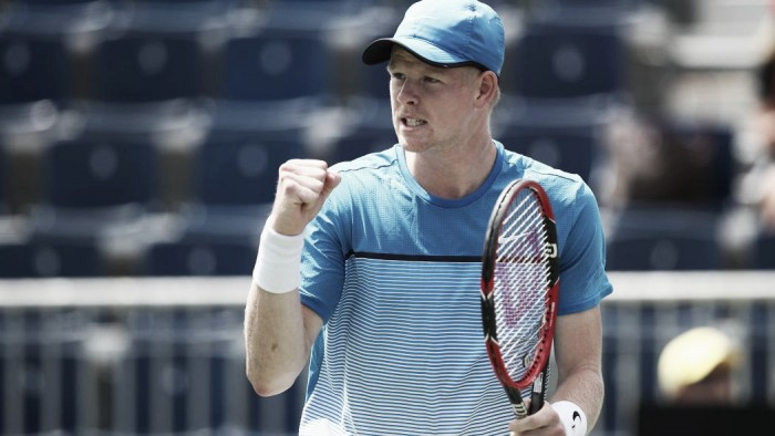 AEGON Championships 2016: Kyle Edmund shocks Gilles Simon to reach the second round