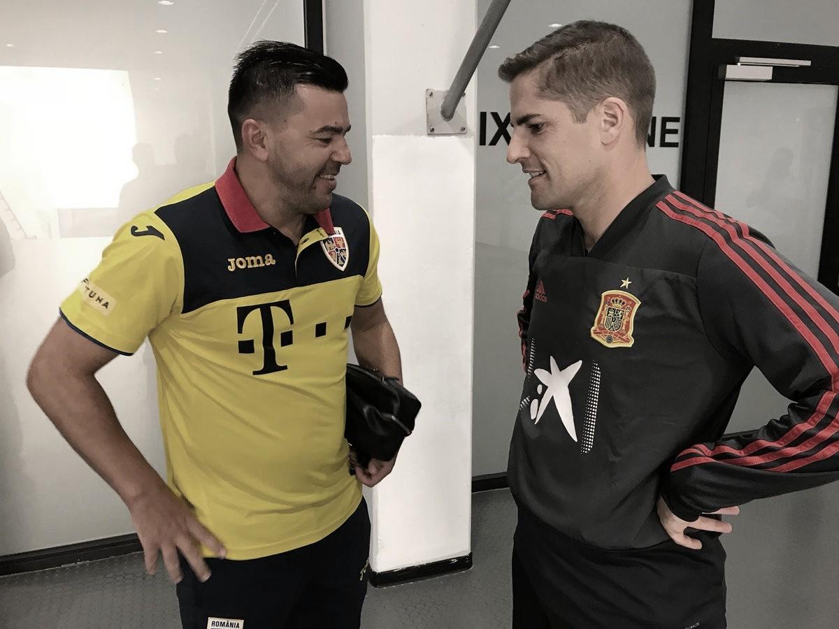 """Robert Moreno: """"Estoy muy contento por los tres puntos y la imagen del equipo"""""""