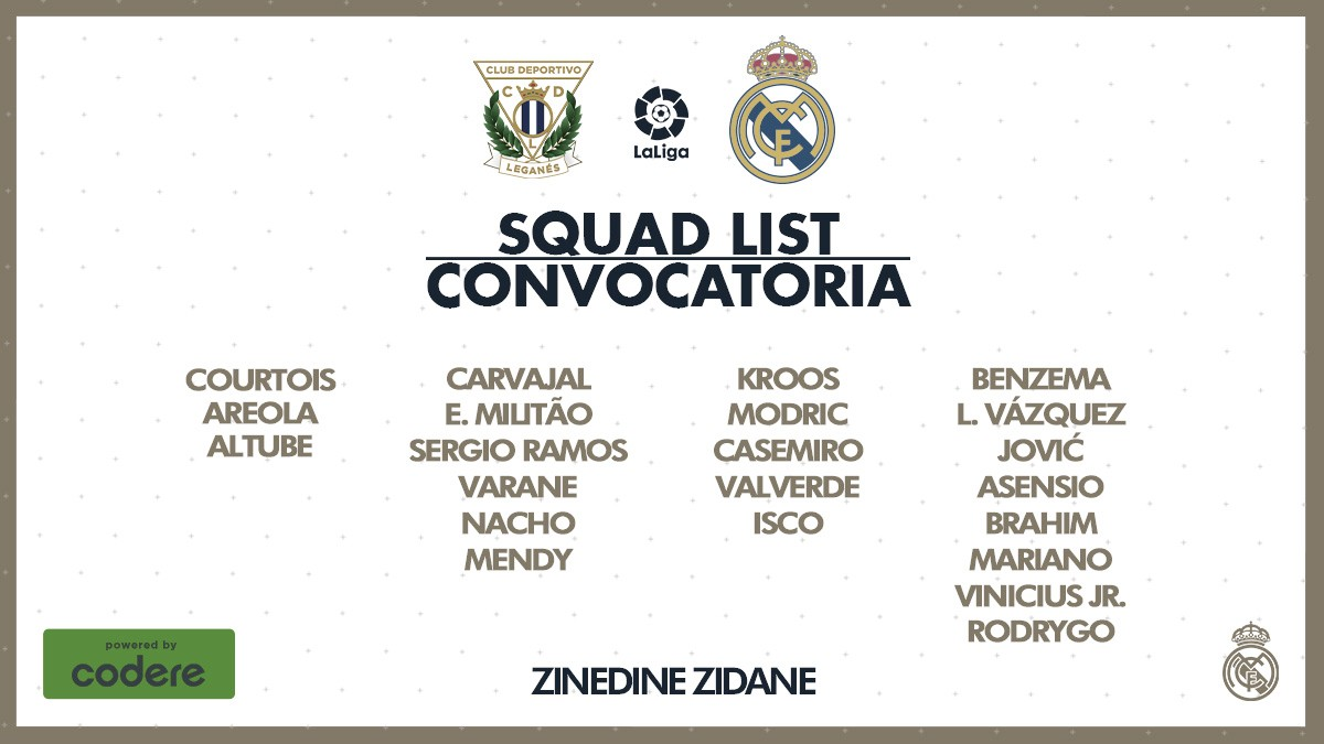 Última convocatoria liguera; vuelve Nacho y se caen Bale y Hazard