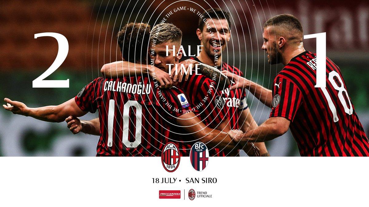 Manita stellare del Milan sul Bologna