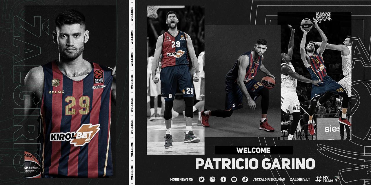 'Pato' Garino perfila las alas de BC Zalgiris Kaunas