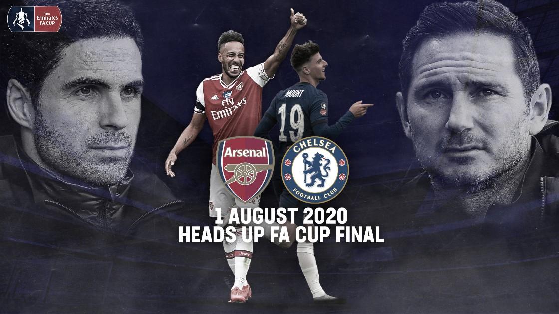 É final! Pelo título da FA Cup, Arsenal e Chelsea fazem clássico londrino em Wembley