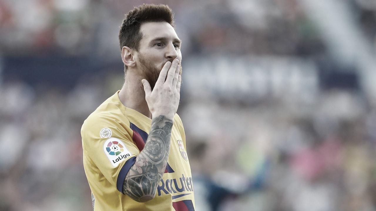 """Messi rechaça números individuais, cita mudança de postura do Barcelona, mas alerta: """"Será muito complicado"""""""