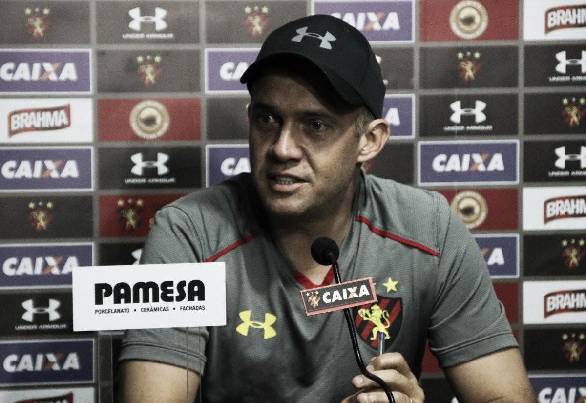 Após derrota para o Bahia, Eduardo Baptista sinaliza Sport com volta de medalhões