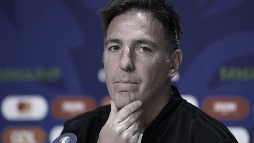 "Eduardo Berizzo: ""Paraguay debe jugar sin inhibiciones ante Brasil"""